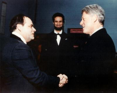 President                   Clinton and Larry Diemer